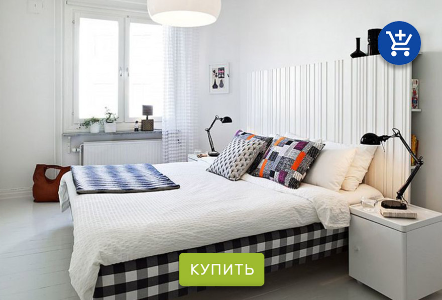 дизайн спальни H&M Home
