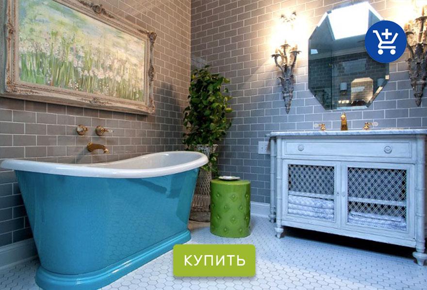 дизайн ванной комнаты от H&M Home