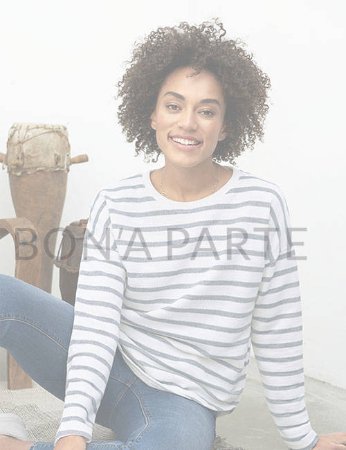 женский лонгслив Bon'A Parte одежда из Германии