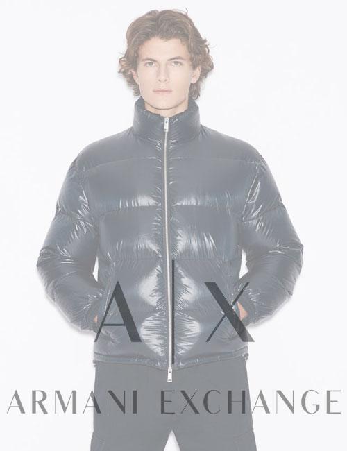 Мужской пуховик Armani Exchange